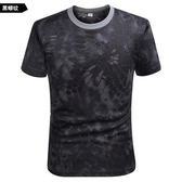 戶外速干短袖T恤男夏季吸汗彈力 運動T恤男輕薄透氣快干衣健身T恤