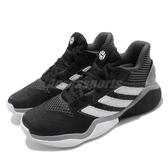 adidas 籃球鞋 Harden Stepback J 黑 白 女鞋 大童鞋 運動鞋 Jame Harden 【PUMP306】 EF9905