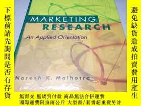 二手書博民逛書店英文精裝原版罕見Marketing Research An Ap