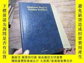 二手書博民逛書店soybean罕見meal in poultry nutriti