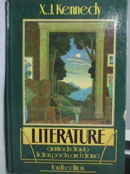 【書寶二手書T4/原文書_YKH】Literature_X.J.Kennedy