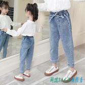 女童牛仔褲子外穿2020新款春秋兒童9小女孩十歲小學生8洋氣6春裝7 OO8152【科炫3c】