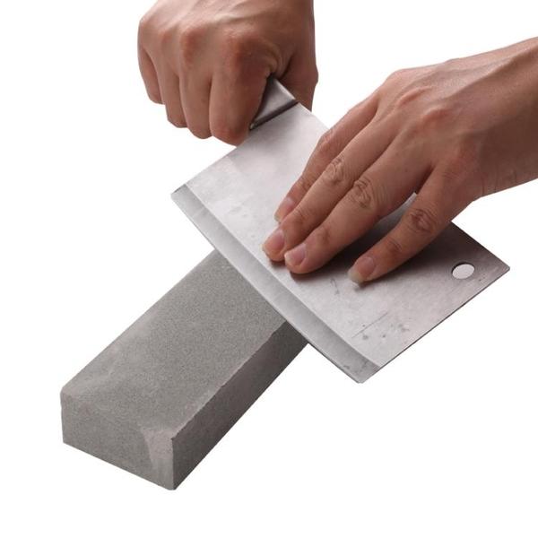 天然磨刀石家用菜刀開刃油石雙面打磨細膩砥石青石漿石漿蕩棒器