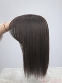 假髮片劉海假髮片長髮一片式輕薄無痕頭頂補髮片女遮蓋白髮真髮真人髮絲 店長推薦