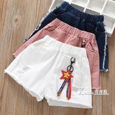 女童牛仔短褲夏裝新款潮兒童薄款外穿中大童女孩夏褲百搭洋氣 Korea時尚記