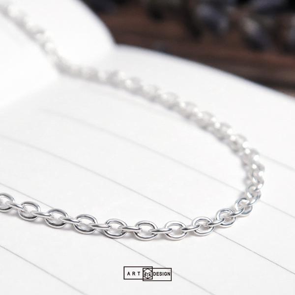 〈經典百搭細鍊〉圓圈鍊(1.6mm寬)-26吋925純銀項鍊