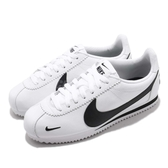 Nike 阿甘鞋 Classic Cortez PREM 白 黑 刺繡 小勾勾 復古運動鞋 男鞋 女鞋【PUMP306】 807480-104