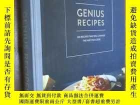 二手書博民逛書店Genius罕見Recipes 100 Recipes That Will Change The Way You