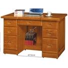 書桌 電腦桌 AT-220-1 雄獅4.5尺樟木色實木辦公桌 (不含其它產品)  【大眾家居舘】