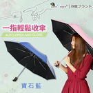 一指輕鬆省力收傘。單指超輕收降溫自動傘自...