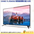 含基本安裝 奇美 CHIMEI TL-55M300 智慧連網顯示器 55吋 電視 螢幕 4K 附視訊盒