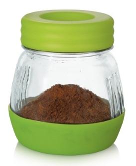金時代書香咖啡 AKIRA 手搖磨豆機下座密封罐 綠色 GCM-1-GR-1