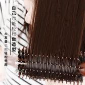 梳子 豬鬃毛捲發梳子內扣吹造型木梳排骨圓筒滾梳子防靜電家用理發店女 玩趣3C