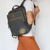PPA016 熱銷日韓 丹寧 牛仔包 旅行包 書包 電腦包 肩背手提 斜背 男女後背包 經典款