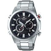CASIO卡西歐EDIFICE雙錶盤太陽能電波腕錶  EQW-T640YD-1A