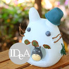 吉卜力 龍貓雪人造形公仔 小物零錢罐 宮崎駿 住在隔壁的TOTORO 豆豆龍 豬公撲滿 DODORO