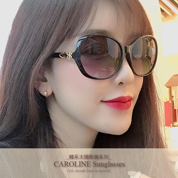 《Caroline》年度最新網紅款潮流百搭抗UV時尚太陽眼鏡 72089