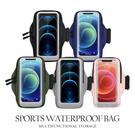威鳥7.2吋觸屏運動臂帶 拉鍊收納包 防水 健身運動跑步雙層手機袋 透氣腕帶包 多功收納 7.2吋以下
