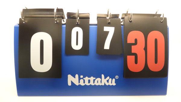 Nittaku 桌球 羽球 排球 標準計分板 MIT