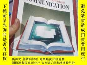 二手書博民逛書店Excellence罕見In Business Communic