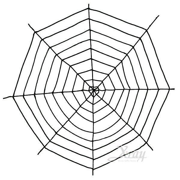 節慶王【W645677】9尺絨毛蜘蛛網,萬聖節/造型燈/佈置/裝飾/擺飾/會場佈置/蜘蛛絲