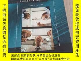 二手書博民逛書店Basic罕見Statistical Ideas for Managers (with CD-ROM)Y250