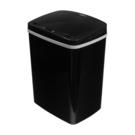 [ 家事達 ] TRENY 防潑水感應垃圾桶-黑12L