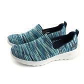 SKECHERS GOWALK JOY 運動鞋 懶人鞋 女鞋 針織 藍色 15615NVMT no834
