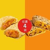(加贈2條雞肉捲)【KK Life-免運組】香酥派餅4袋(3種口味)