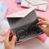 眼鏡盒 小清新創意個性眼鏡盒簡約便攜眼鏡收納盒 莎拉嘿幼
