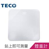 【可超商取貨】TECO東元LED魔術體重計(XYFWT702)
