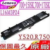Lenovo L16M3P24 L16S3P24 L14M3P24 L14S3P24 電池(原廠)-聯想 Legion Y520 電池,Y520-15IKBN,Y520-15IKBAY520-15IKBM