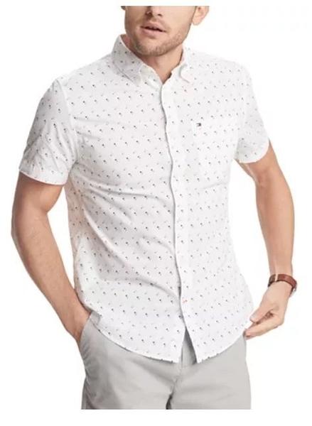 美國代購 Tommy Hilfiger 棉質 短袖襯衫 (S~XXL) 1357
