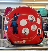 Hello Kitty復古帽,803,麗莎與卡斯柏Xhello kitty聯名款/紅
