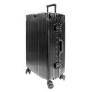 【YC Eason】古典26吋鋁框避震行李箱(黑)