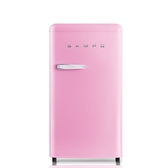 聲寶99公升單門粉彩紅冰箱SR-C10(P)
