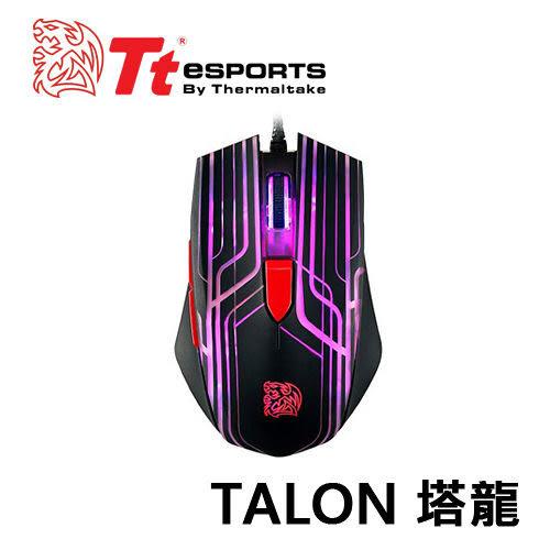 【超值電競鼠】曜越 Tt eSPORTS 塔龍TALON 左右手通用 光學電競滑鼠