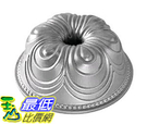 [105美國直購] Nordic Ware 87437 蛋糕模具 烤盤 Chiffon Bundt Pan, Metallic