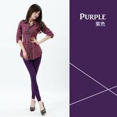 超彈性S-5XL舒適貼身內搭褲-神秘紫羅蘭
