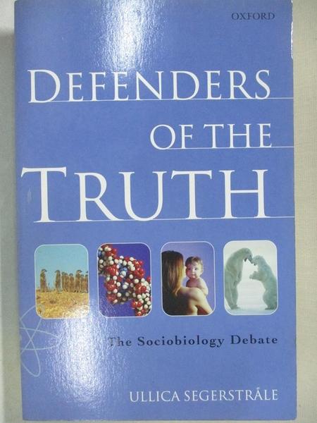 【書寶二手書T1/大學理工醫_BY4】Defenders of the Truth: The Sociobiology Debate