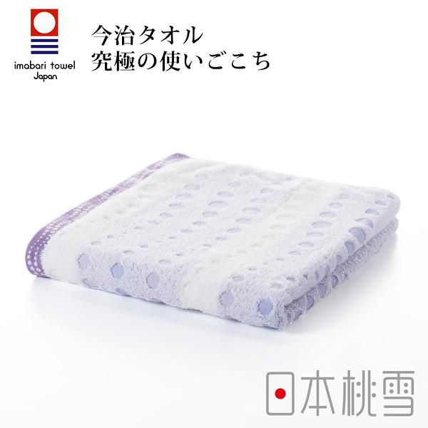 日本桃雪今治水泡泡毛巾(薰風紫) 鈴木太太