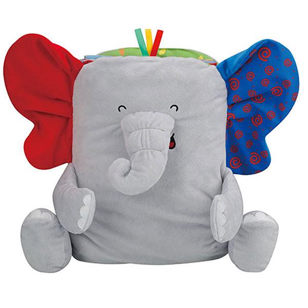 《K's Kids奇智奇思》二合一小象地墊書 Take Along Elephant Playmat Book