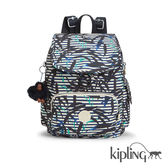 Kipling 叢林印花後背包-中-CITY PACK S