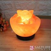 【鹽夢工場】創意造型鹽燈-6吋大元寶聚寶盆