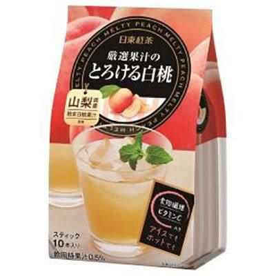 【日東紅茶】  白桃果汁沖泡式飲品 95g (10包入)