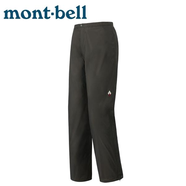 【Mont-Bell 日本 女  RAIN HIKER PANTS 雨褲《灰》】1128603/防風防水長褲/風雨褲/登山