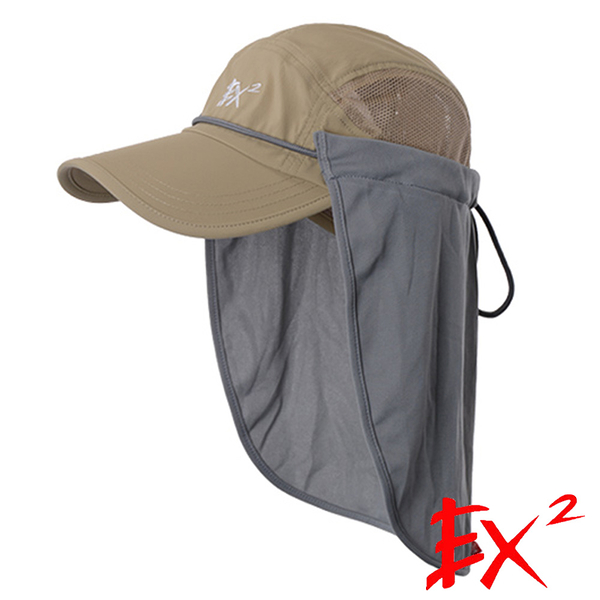 【EX2德國】帽子遮頸罩『荒野』665064 露營.戶外.登山.防曬.UPF40+.郊遊.遮頸布.體積小.收納方便