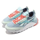 Reebok 休閒鞋 CL Legacy 藍 綠 男鞋 女鞋 Classic Leather 運動鞋 【ACS】 FZ0812