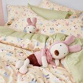床包被套組 / 雙人加大【妮妮公主】含兩件枕套  100%精梳棉  戀家小舖台灣製AAS312