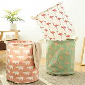 布藝臟衣籃收納筐可摺疊特大號放衣物的洗衣籃子裝臟衣服收納WY 交換禮物大熱賣